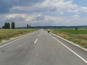Her bisikletçinin rüyası kaymak asfalt